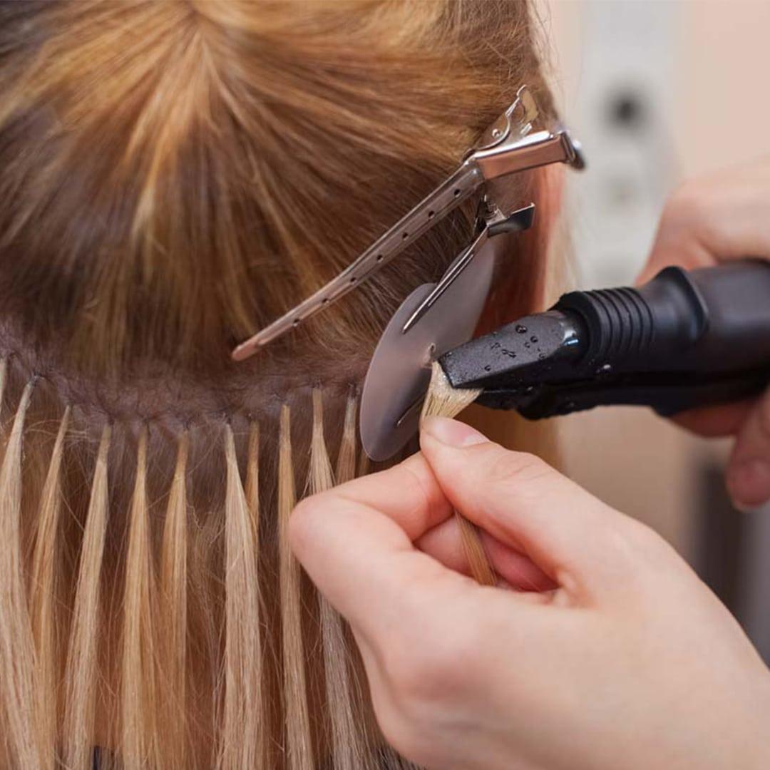 Естествена коса - Кичури с кератин InnaHairExtention