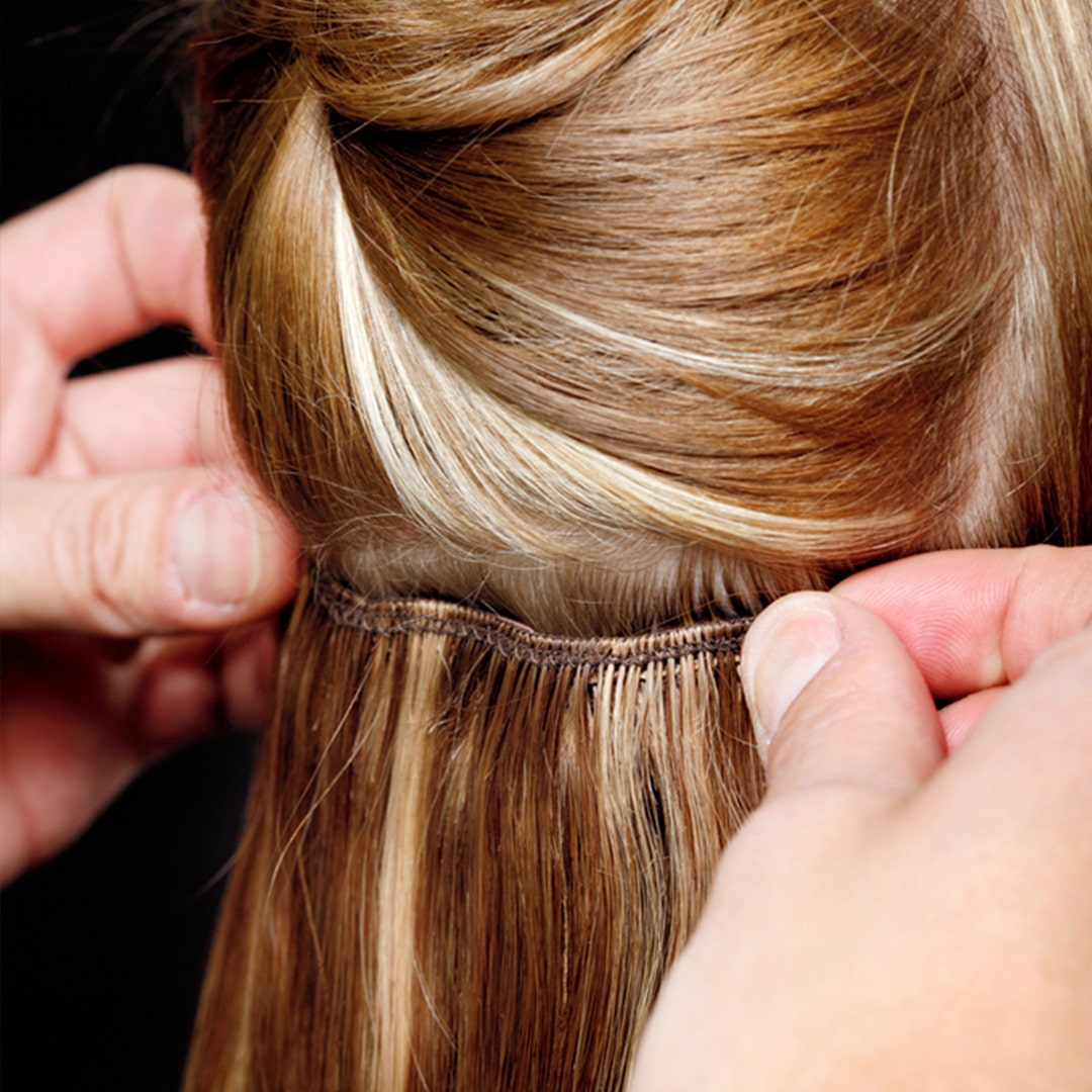 Естествена коса на треса - Трайно поставяне