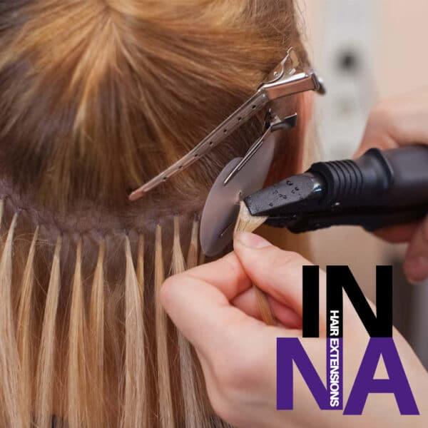 Естествена коса – Кичури с кератин InnaHairExtention